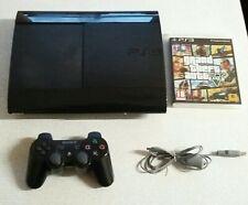PS3 Sony Playstation 3 super slim 12GB CECH-4003A GTA 5