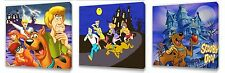 Scooby Doo set of Three Wall / Plaques canvas pictures