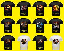 Mortal Kombat X Playstation 3 Xbox 360 Game Kitana Sub Zero Scorpion Shirt TEE