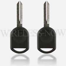 2 Car Transponder Chip Key For 2000 2001 2002 2003 2004 2005 2006 Ford Taurus