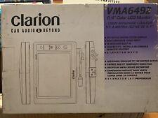 "New Clarion VMA6492 6.4"" Color LCD Monitor,NIB,RARE,NOS,vintage"