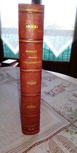 PARTITION GUILLAUME TELL OPERA EN 4 ACTES DE G.ROSSINI 5ème édition