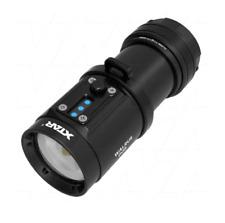 XTAR D08 2000 lumen professional diving flashlight, 120 degrees wide beam range