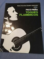 Paco Peña-toques flamencos-SPAGNOLA CHITARRA CLASSICA scheda punteggio-pena