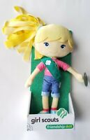 GIRL SCOUT DOLL Friendship Doll CHLOE W/ Stickers