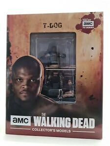 The Walking Dead Collectors Models T- Dog Figurine Eaglemoss. New