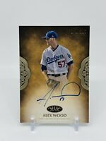 2019 Topps Tier One Alex Wood Prime Performers Auto /299 Los Angeles Dodgers