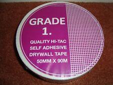 2 x cartongesso Cartongesso Qualità Hi-Tac il nastro adesivo 50 mm x 90 M