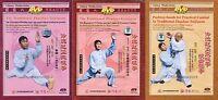 Chinese Traditional Kungfu Zhaobao Taijiquan Tai Chi Series by Wang Changan 4DVD