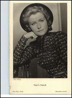KARIN HARDT Schauspielerin ca. 1950/60 Porträt-AK Film Bühne Theater Foto-Verlag