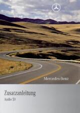 MERCEDES   AUDIO 50   Radio TV 212  Handbuch  2009  Bedienungsanleitung  RN
