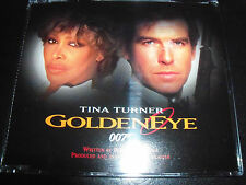 Tina Turner Goldeneye / Golden Eye Rare CD Single