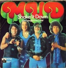 "MUD shake it down/use your imagination PVT 65 uk private stock 7"" PS EX/VG"