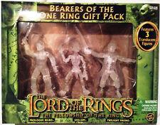 LORD OF THE RINGS FOTR RING BEARERS GIFT PACK TWILIGHT FRODO GOLLUM & SAM RARE