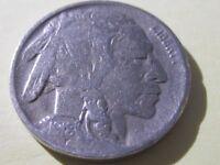 1918-D BUFFALO NICKEL   Very Fine cond -  Full Date - Semi-Key   Lot# 68-28