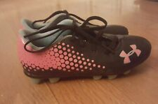 Girl Size 12K Under Armour Cleats Shoes