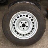2011-18 Volkswagen Amarok '17' Steel Wheel & Brand New Tyre. 245/65 R17 Pirel...