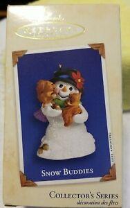 Hallmark Keepsake 2003 Snow Buddies #6 In The Series  td8
