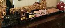 Railroad Steam Locomotive Engine Model Train DENVER RIO GRANDE Glazed Ceramic
