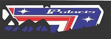 POLARIS tunnel decal RETRO SWITCHBACK rush 800 PRO S AXYS 120 137 RMK star blue