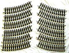 ARISTO CRAFT 11500 - 5' DIAMETER CURVE BRASS TRACK 12 PCS