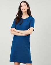 Joules Womens Liberty A Line Jersey Dress - Blue