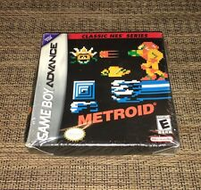 New Sealed METROID CLASSIC NES SERIES - Nintendo Game Boy Advance Game