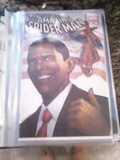 Amazing Spider-Man #583D 2009 Obama Variant 1st Edition 4th Printing