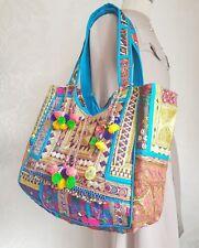 7122691804 Banjara Tote Artisan Embroidered Gypsy Boho Indian Ethnic Tribal Peru Bag