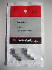 Pack of 14 Fuse Fast Acting 7 Amp 250 Volt 1 1/4 x 1/4 AFE AGC 3AG 312