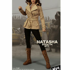 SUPERMCTOYS F-067 1/6 Black Widow Natasha Romanov Clothing For 12'' Girl Figure