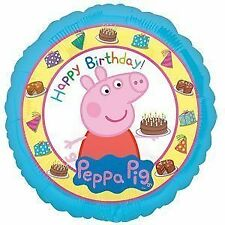 "Amscan Internacional 3159201 Globo de papel Estándar ""peppa Pig Happy Birthday"""