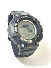 Casio 3439 Digital Triple Sensor Compass Barometer LED Men's Watch SGW-1000#5940