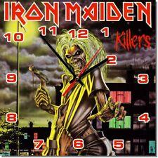 Sveglia da parete, orologio IRON MAIDEN killers rock music MDF wall clock 28cm