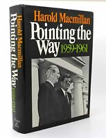 Harold MacMillan POINTING THE WAY, 1959-1961  1st Edition 1st Printing