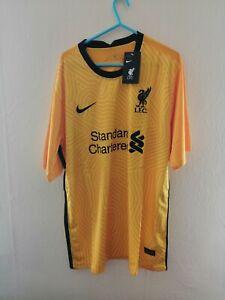 Liverpool goalkeeper shirt yellow XL