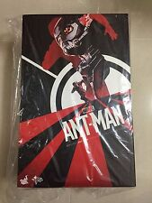 Hot Toys MMS 308 Antman Ant Man Scott Lang Paul Rudd 12 inch Action Figure NEW