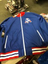 New England Patriots Mitchell and Ness NFL Preseason Warm Up Track Jacket