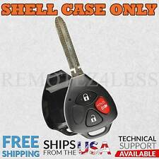 for Toyota Corolla Matrix RAV4 Yaris Keyless Remote Car Entry Key Fob Shell Case