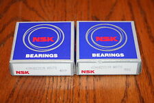 (Lot of 2) NSK 6908 ZZCM NS7S Shielded Deep Groove Bearings * NEW *