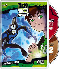 Ben 10 - Omniverse, Vol. 2 - Heroes Rise (DVD 2 disc)  NEW sold as is
