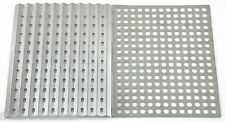 Stainless Steel Dual Side BBQ Sheet Outdoor Yard Camp Cook Grill Grates Reusable