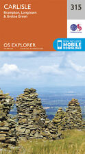 Carlisle Explorer Map 315 - New - OS - Ordnance Survey