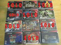 Original N-Gage Games-X-men II, Sonic, Catan, Worms, Puyo,Bomberman,Atari-NEW!