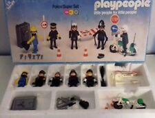 Playmobil Playpeople Police Super Set 1720/1 Exclusive VERY RARE BOBBY FIGURES