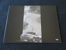 2001 Ford SVT Mustang Cobra Deluxe Sales Brochure '01 Spec Vehicle Team Catalog