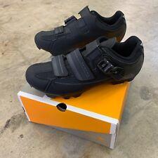 Serfas Men's Switchback Mountain Bike Shoes Black Size 45