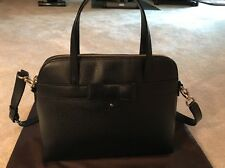 BNWOT Kate Spade Black Bow Handbag