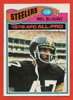 1977 Topps #180 Mel Blount NEAR MINT+ HOF Pittsburgh Steelers FREE SHIPPING