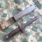 Beretta Italian Army BM59 Bayonet And Scabbard, 1966 Used Surplus Italy AEP